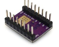 DRV8825 Stepper Motor Driver with Aluminum Heat Sink (Robu.in)