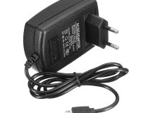 5V 3A Raspberry pi AC 100-240V DC 15W EU Plug USB Power Supply Adapter Charger with Connecting Cable (Robu.in)