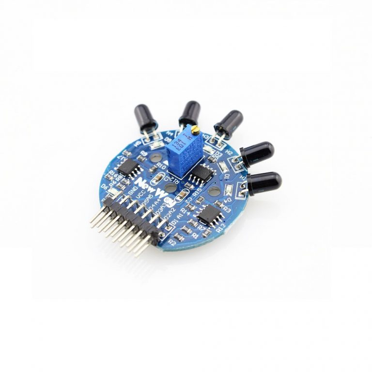 5-Channel Flame Sensor Module - ROBU.IN