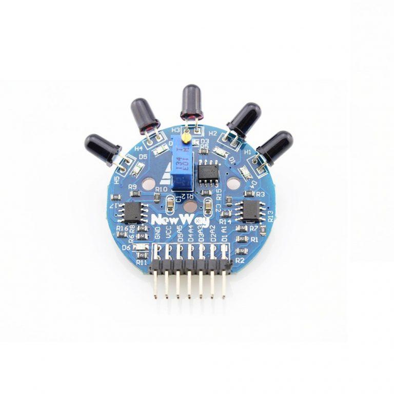5-Channel Flame Sensor Module-ROBU.IN