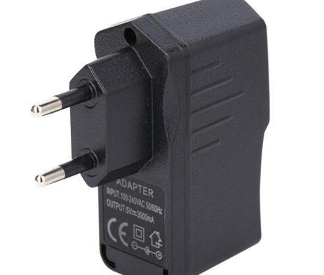 5V 3A Raspberry Pi AC 100-240V DC 15W EU Plug USB Power Supply Adapter Charger -ROBU.IN