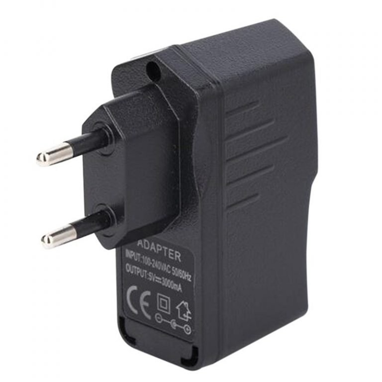 5V 3A Raspberry Pi AC 100-240V DC 15W EU Plug USB Power Supply Adapter Charger -ROBU.IN
