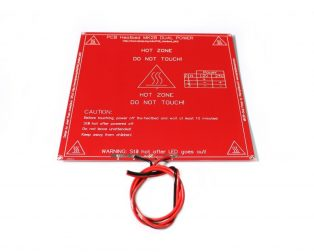 RepRap MK2B 3D printers Dual Power PCB HeatBed With 14AWG Cable (Robu.in)