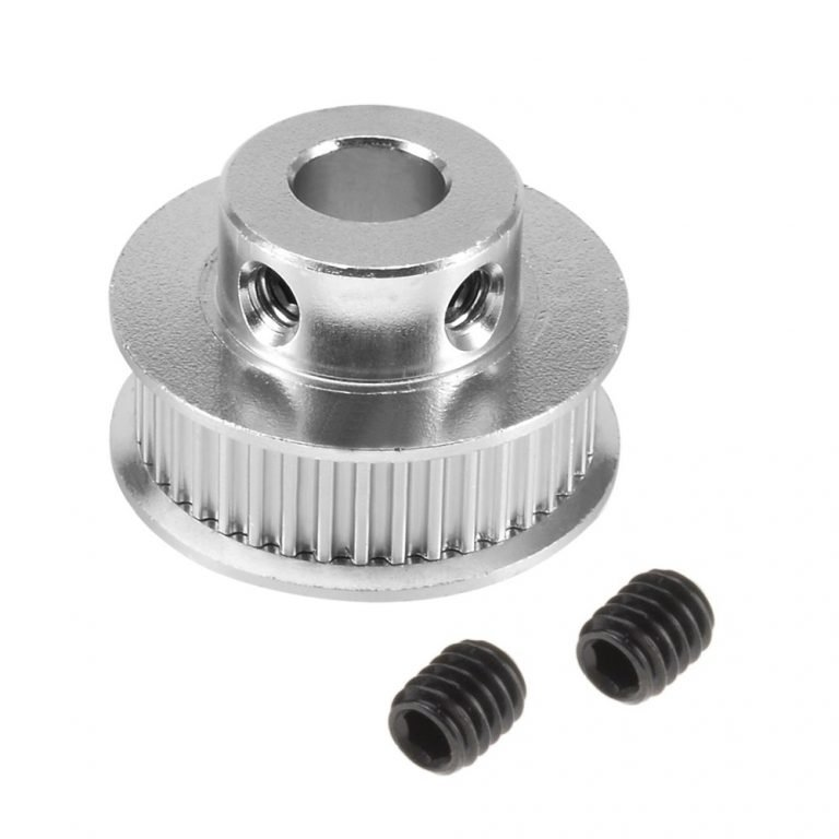 Aluminum GT2 Timing Pulley For 6mm Belt 40 Tooth 8mm Bore (Robu.in)