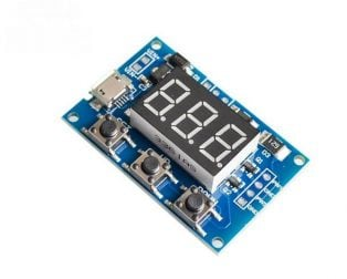 2 Channel PWM Pulse Frequency Adjustable Duty Cycle Square Wave Rectangular Wave Signal Generator Module