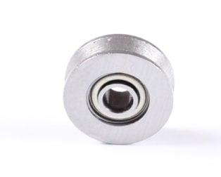 V623ZZ 623VV V Groove Guide Pulley Rail Ball Bearings Metal-(4pcs/Bag)