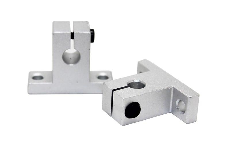 SK8 8MM linear bearing rail support XYZ Shaft Table CNC Router SH8A - 2Pcs