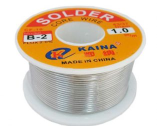 Solder Wire 0.5mm 50g B Type 35% Tin content