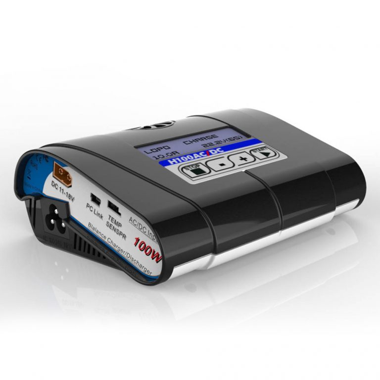H100 100W 10A AC/DC Input Professional Balance Charger (Robu.in)