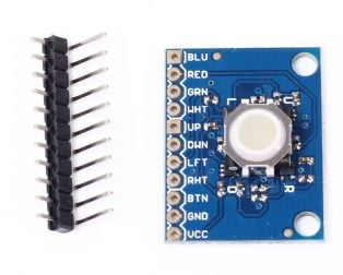 ICSH044A ICSTATION Blackberry Trackball Breakout Board 360 Degree Trajectory Ball Module Hall Effect Sensor (Robu.in)