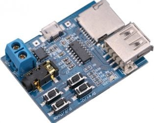 Non-Destructive MP3 Decoding Board