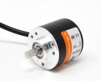Orange Rotary Incremental Optical Encoders ROBU.IN