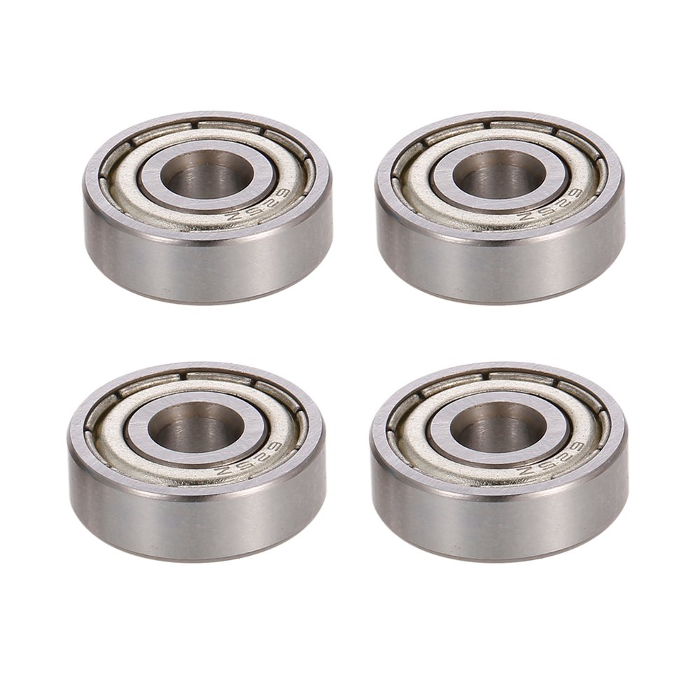 Radial Ball Bearing 625zz For 3d Printer Robot 4pcs Bracket Sk10 Untuk Shaft 10mm Vertical Hover To Zoom