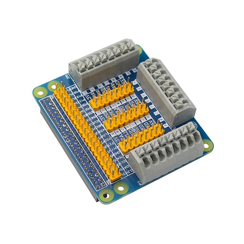 Raspberry Pi GPIO Expansion Shield For PI 2/3 B B+ Module (Robu.in)