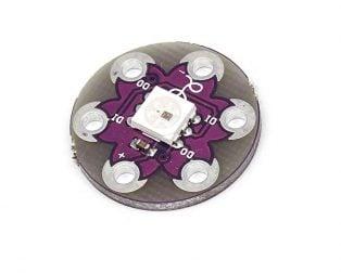 WS2812 LilyPad RGB LED Module for Arduino