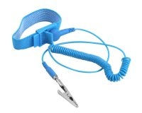 Anti Static ESD Wrist Strap Elastic Band with Clip (Robu.in)