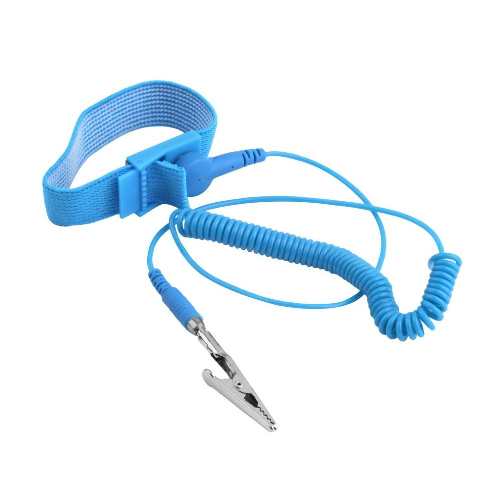 Hot Anti Static ESD Adjustable Wrist Strap electronic Discharge Band Ground Ih