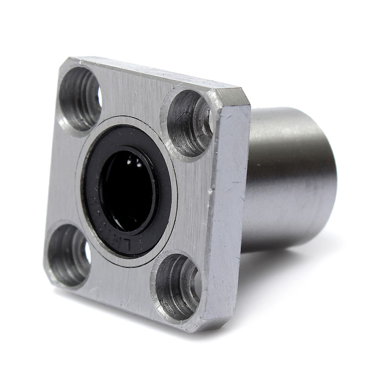 Linear Bearing Lmk10uu 10mm Square Flange Bushing Indian Bracket Sk10 Untuk Shaft Vertical Hover To Zoom