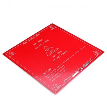 RepRap MK2B 3D printers Dual Power PCB Heat Bed With 14AWG Cable