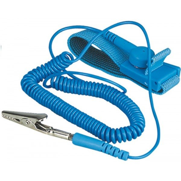 Power Tool Accessories Esd Anti Static Cordless Wrist Strap Elastic Band For Sensitive Electronics Repair Tools