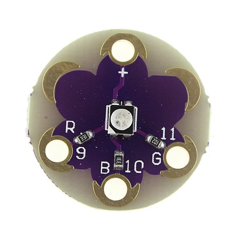Lilypad Tri Colore Arduino LED