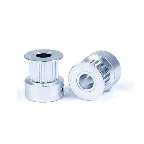 Aluminum GT2 Timing Pulley 16 Tooth 5mm Bore For 6mm Belt - 2Pcs