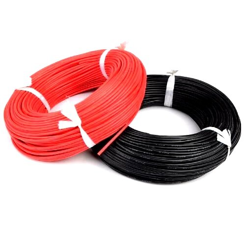 High Quality 16AWG Silicon Wire 1m (Red)