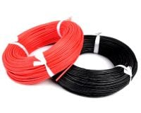 High Quality 20AWG Silicon Wire 1m (Red)