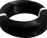 High Quality 24AWG Silicon Wire 2m (Black)