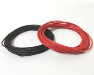 High Quality 24AWG Silicon Wire 2M (Red)