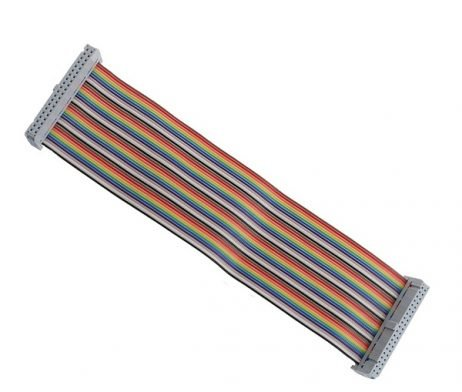 40 Pin Colorful Rainbow GPIO Cable 20CM for Raspberry Pi