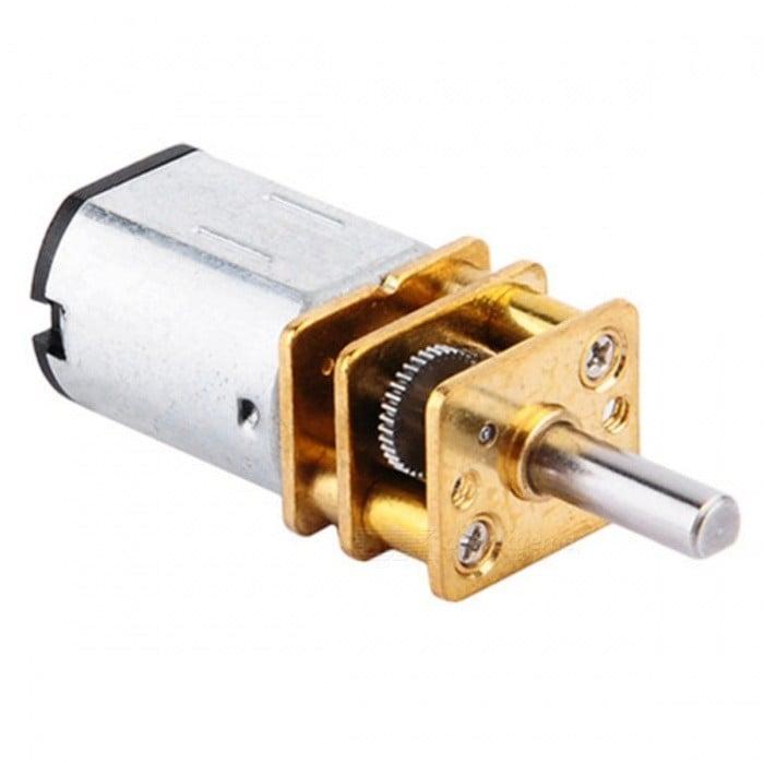 N20-12V-600 Rpm Micro Metal Gear Motor