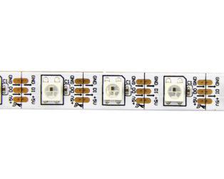 1M WS2812B 5V Addressable RGB Non-Waterproof LED Strip Light 60LED's/Mtr.