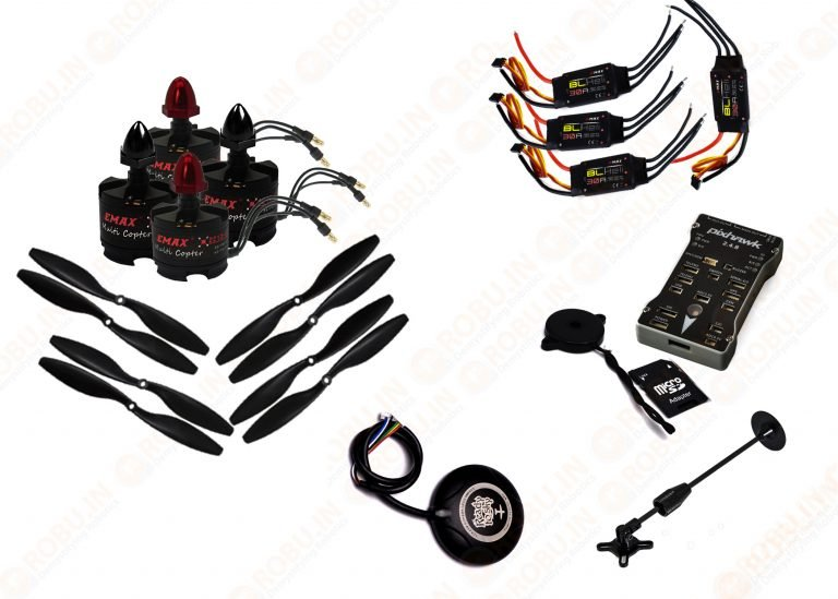 ARF Quadcopter Advanced Combo Kit (Robu.in)