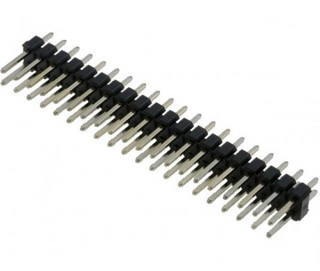 2.54MM pitch 40 Pin Male Double Row (2ffx20) Pin Header Strip