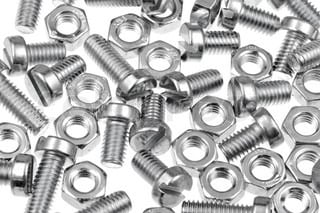 EasyMech CHHD 6mm Bolt, Nut and Washer Set-20 pcs.