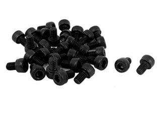 Set of M5 X 8 MM Socket Head Cap (Allen) Bolt and Nut