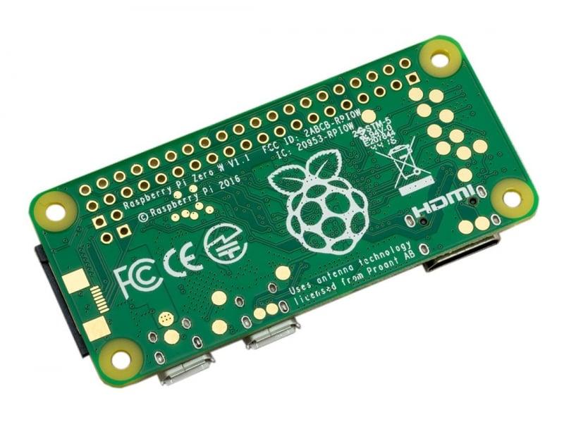 Raspberry Pi Zero Wireless WH (Pre-Soldered Header)