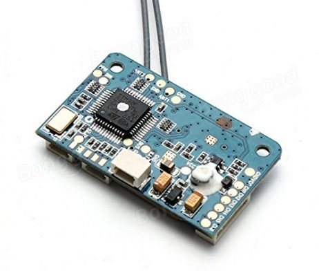 X6B 2.4G 6CH i-BUS PPM PWM Receiver for AFHDS