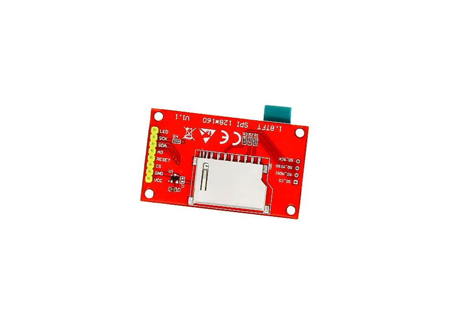 1 8 Inch TFT LCD Module 128 x 160 with 4 IO - Robu in | Indian Online Store  | RC Hobby | Robotics