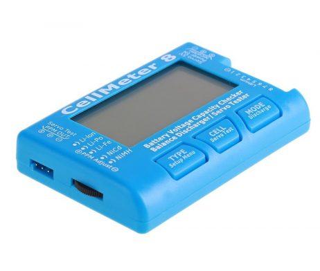 Cellmeter 8 Multi-Functional Digital Power Servo Tester- ROBU.IN