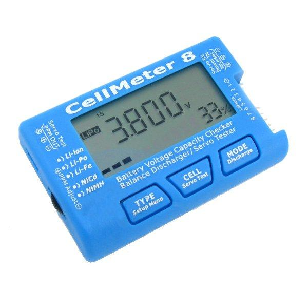 Cellmeter 8 Multi-Functional Digital Power Servo Tester - ROBU.IN