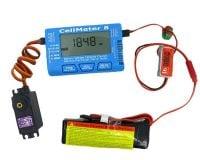 Cellmeter 8 Multi-Functional Digital Power Servo Tester