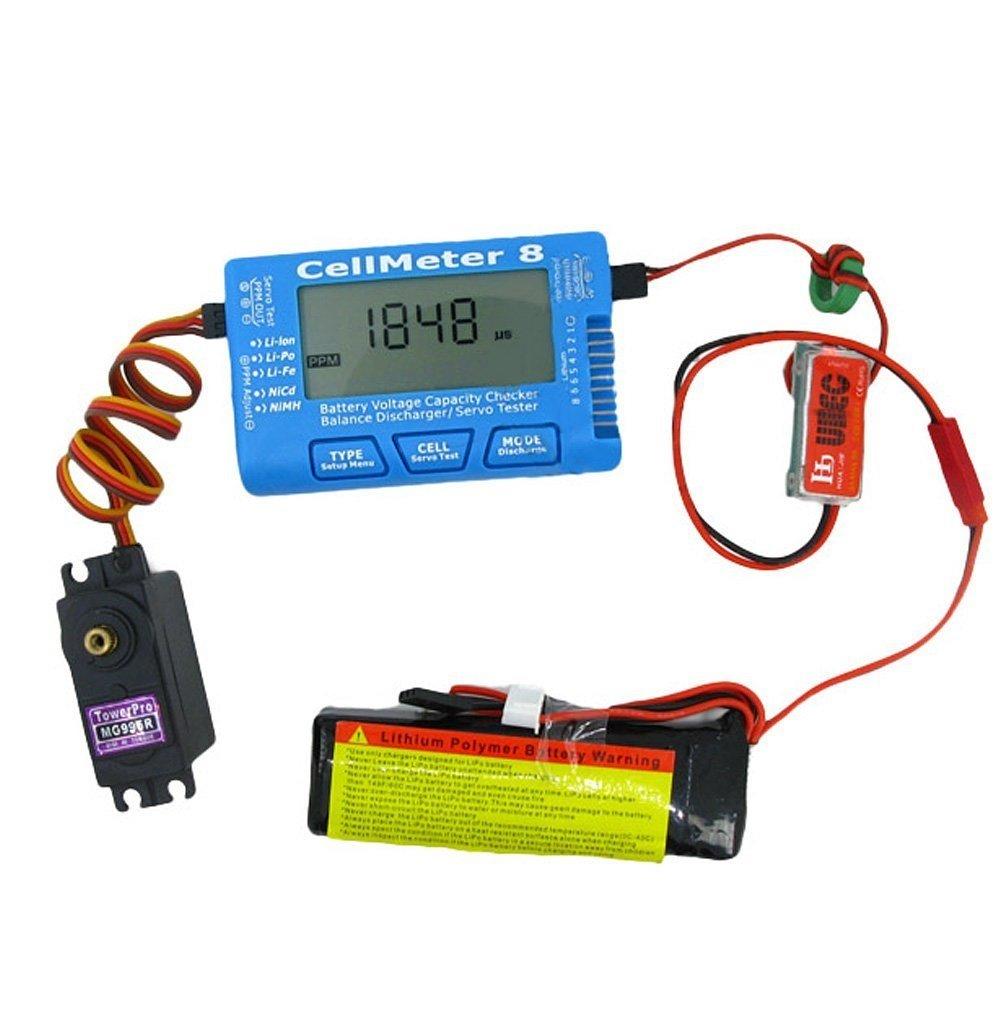 Cellmeter 8 Multi-Functional Digital Power Servo Tester - Robu in | Indian  Online Store | RC Hobby | Robotics