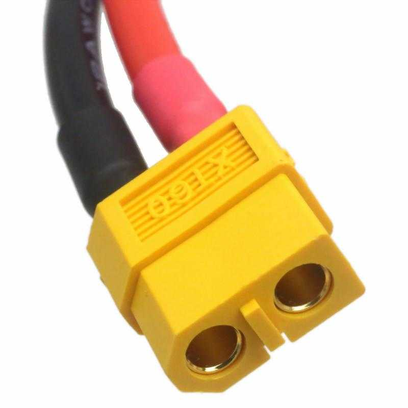 XT60 Female with 14AWG Silicon Wire 10cm (1pcs/bag)
