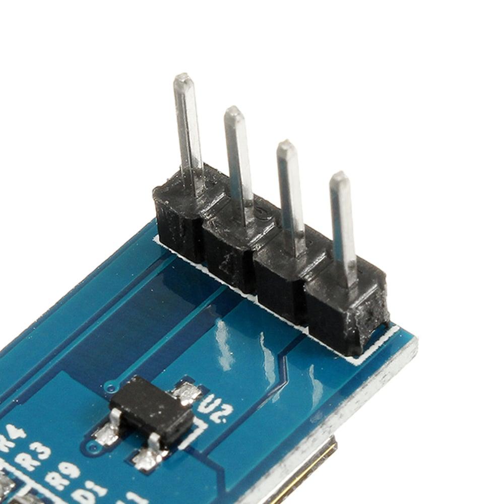 0.91 inch 128x32 I2C IIC Serial Blue OLED LCD Display Module