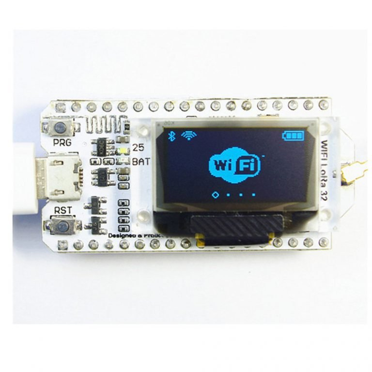 ESP32 LoRa SX1278 0.96 Inch Blue OLED Display BT WiFi Module for Arduino