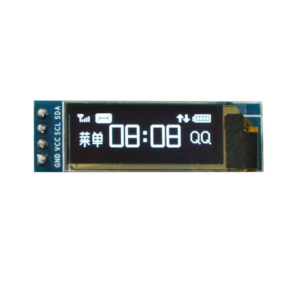 0 91 inch 128x32 Blue OLED Display Module with I2C/IIC Serial Interface