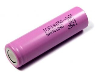 SAMSUNG ICR18650-26 J 2600mAh Li-Ion Battery(Original)