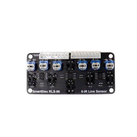 SmartElex RLS-06 Analog & Digital Line Sensor Array